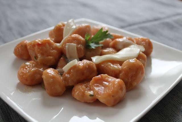 gnocchi rossi - ovvero gnocchi ai pomodori secchi