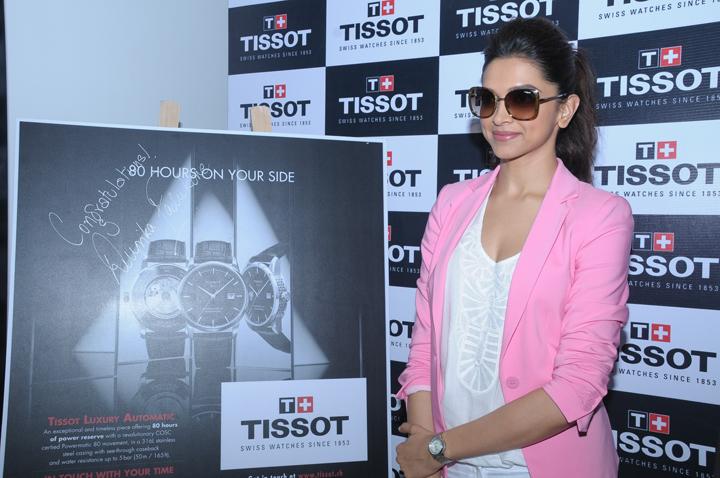 Deepika Padukone Tissot launch