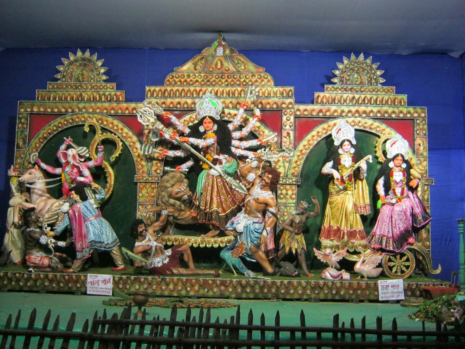 Shetkolony Durga puja