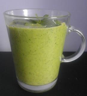 Zdrowe zielone smoothie- zastrzyk młodości :)