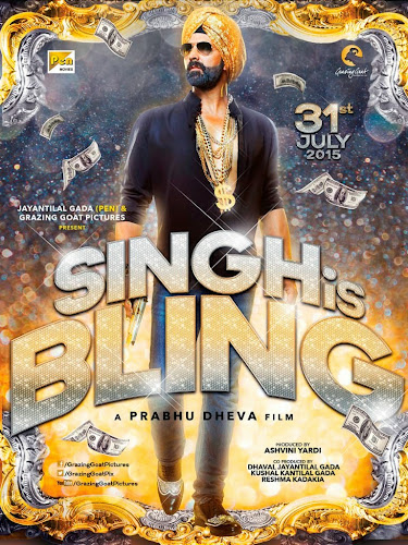 Singh Is Bliing (2015) Movie Poster No. 1
