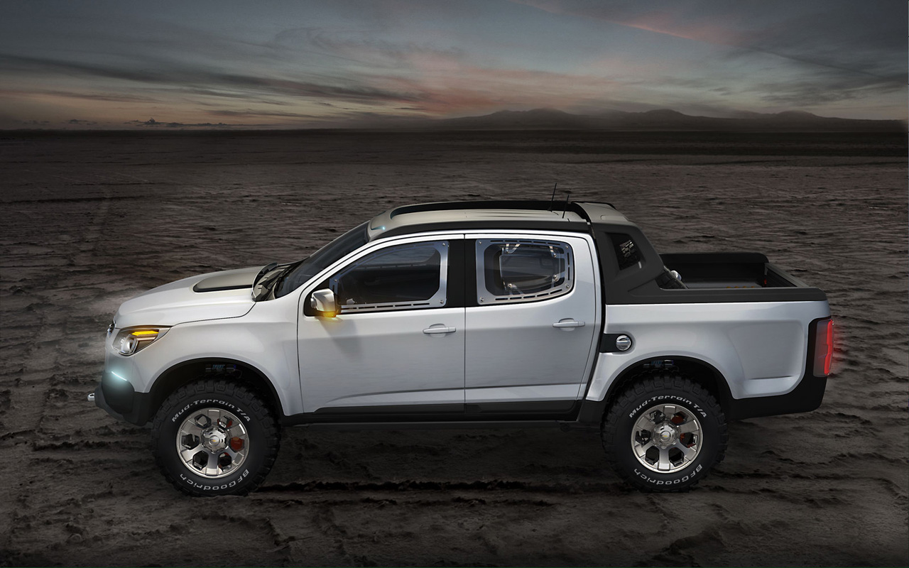 New Car Chevrolet Colorado Rally Concept Truck