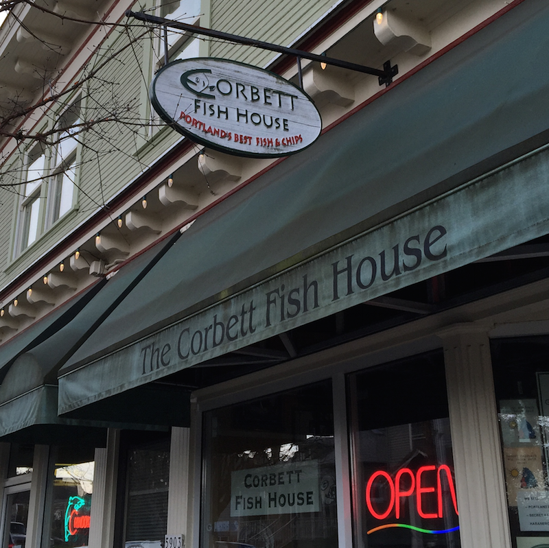 Healthier fish chips at corbett fish house in portland for Plenty of fish portland