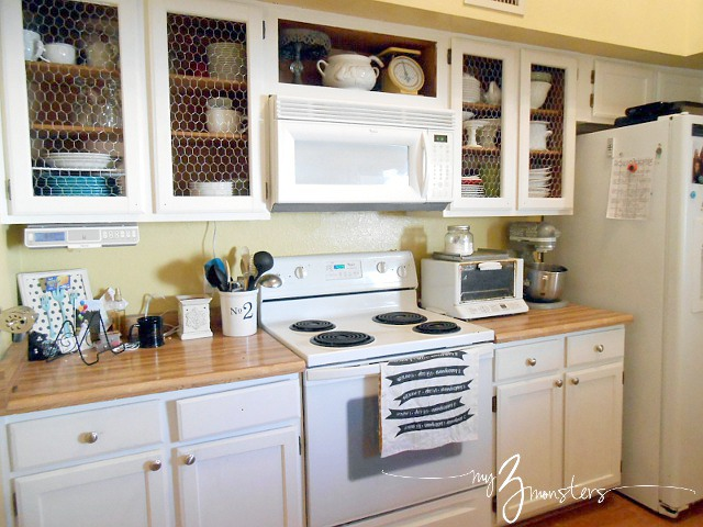 Fresh diy kitchen cabinet makeover kitchen cabinet makeover white kitchen cabinets chicken wire kitchen