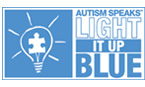 Autism Speaks | Light it up blue!