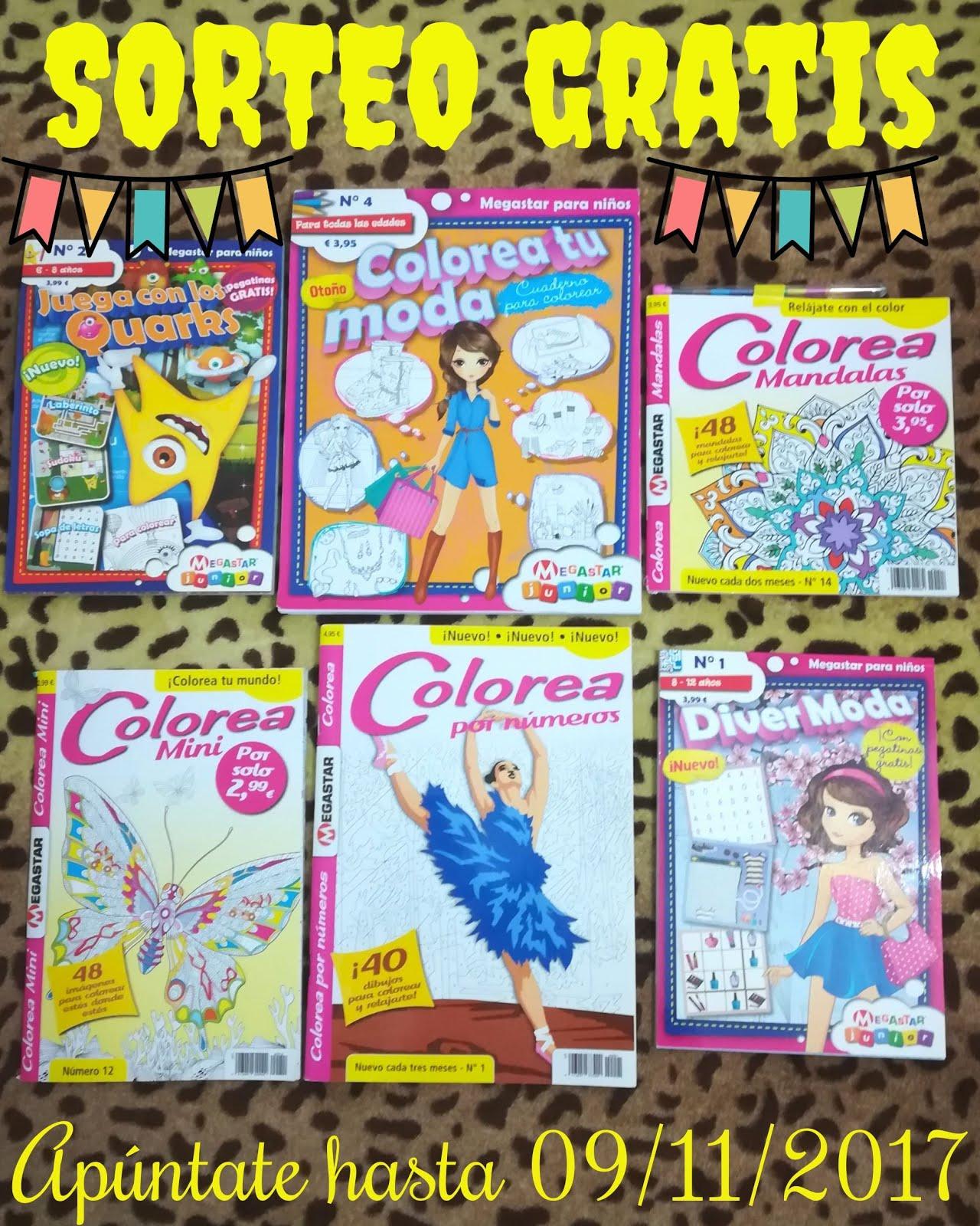 Sorteo: Gana un lote de revistas ¨Megastar¨