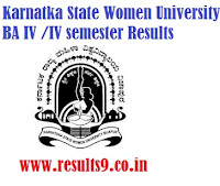 Karnataka State Women's University  Degree Results 2013
