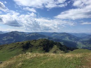 Aussicht bei Kitzbühel