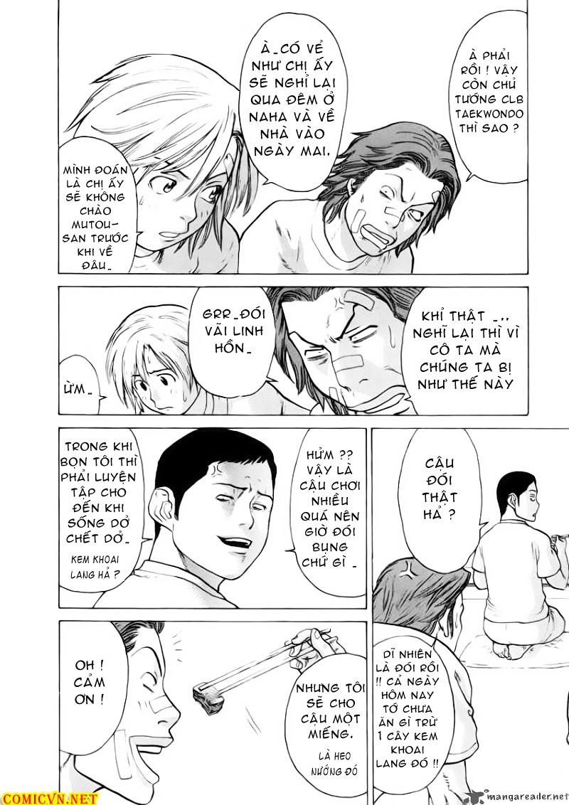 Karate Shoukoushi Kohinata Minoru chap 50 Trang 9