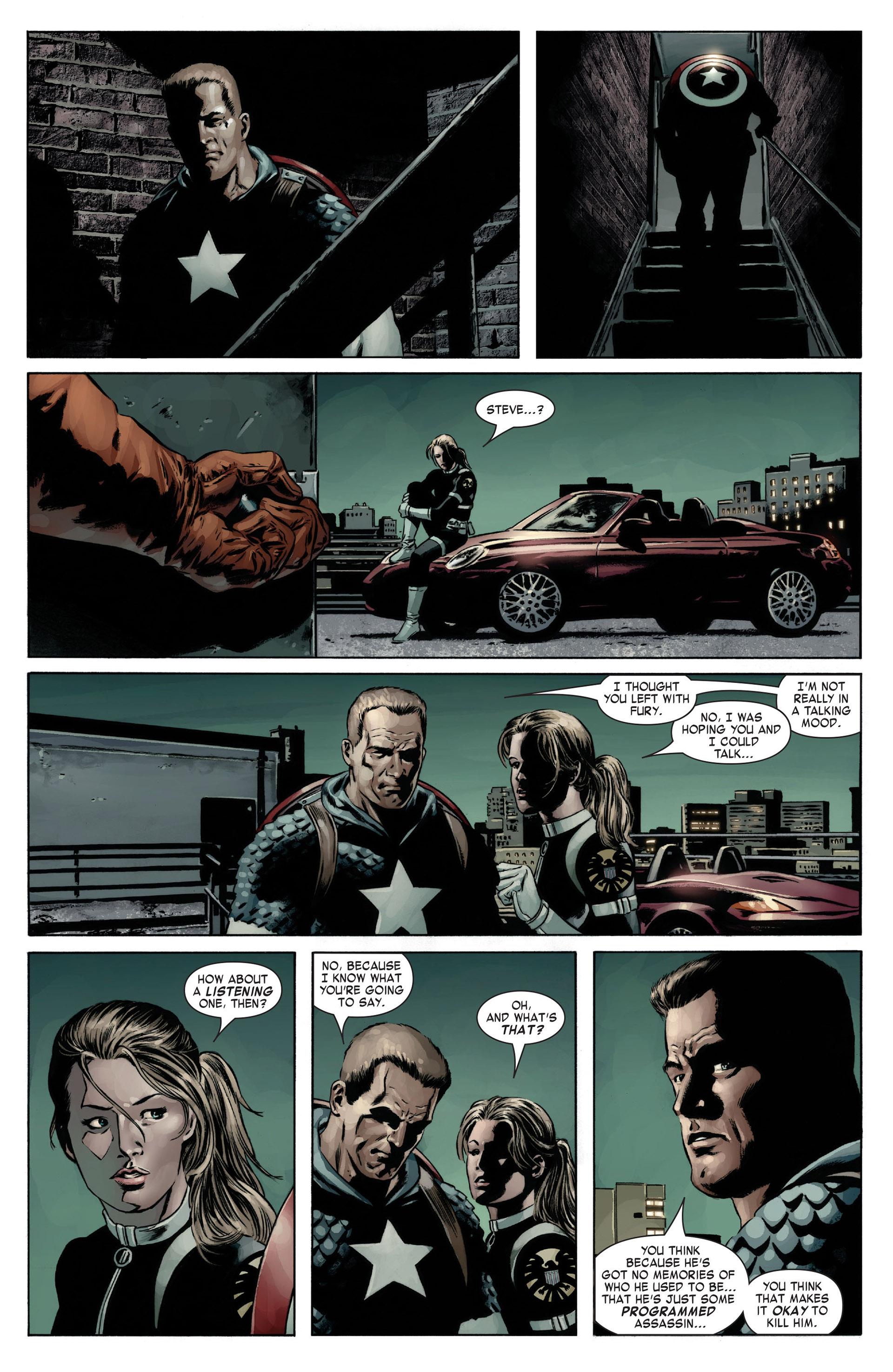 Captain America (2005) Issue #12 #12 - English 9