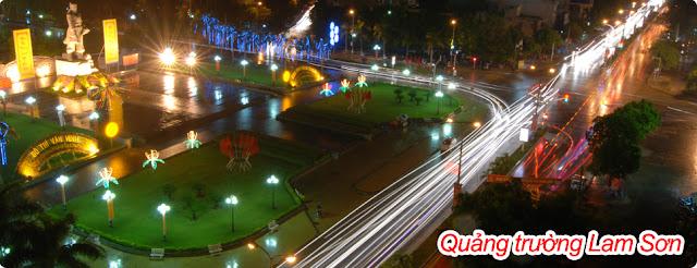 Quảng tường Lam Sơn - Thanh Hóa