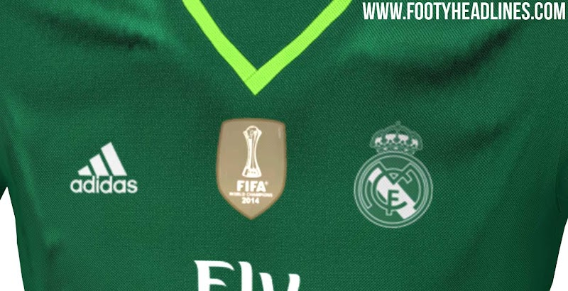 Nueva camiseta de arquero adidas del Real Madrid