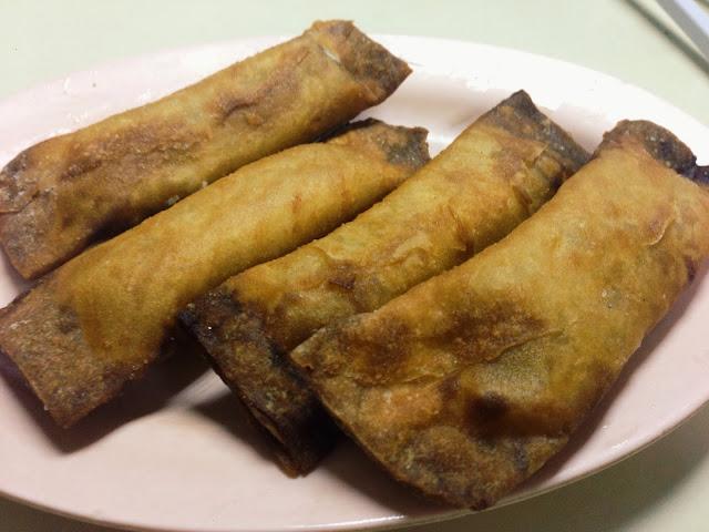Fried Banana Mango Roll at 126 Eating House
