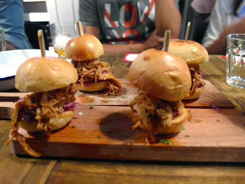 Club Meatballs Restaurant Review Pulled Pork Chilli Purple Slaw Sliders Lunarrive Blog