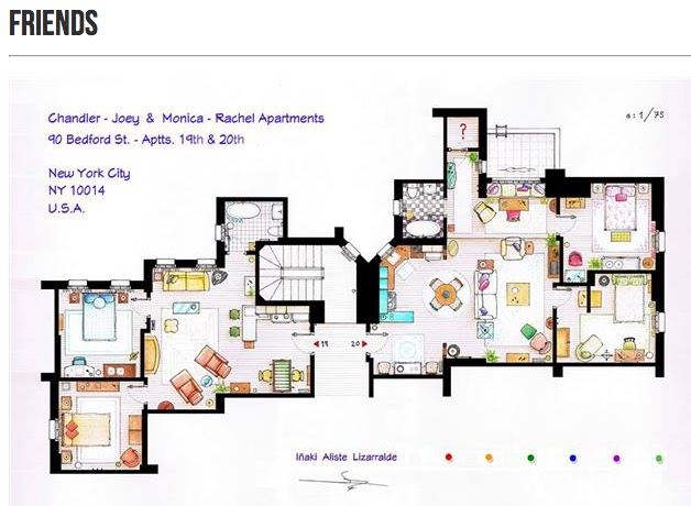 Pleasing Cinema Style Floor Plans Of The Fictitious Download Free Architecture Designs Rallybritishbridgeorg