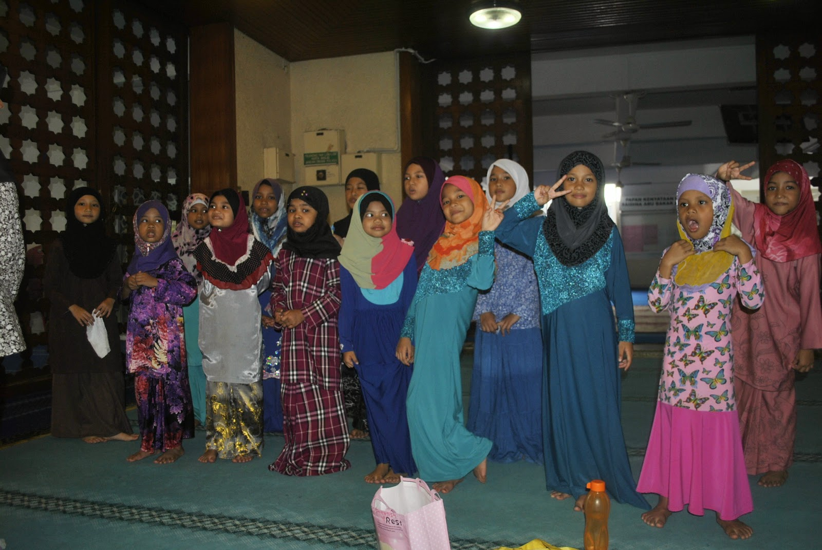 Masjid Saidina Abu Bakar As Siddiq, Bangsar.: BENGKEL IBADAT SEMPURNA