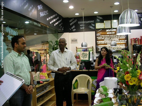 lush charity pot india partner so care launch event