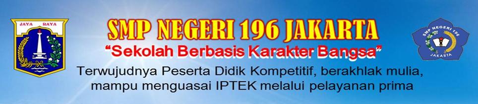 Blog SMP Negeri 196 Jakarta