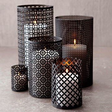 Moroccan lighting, Aluminum Lanterns