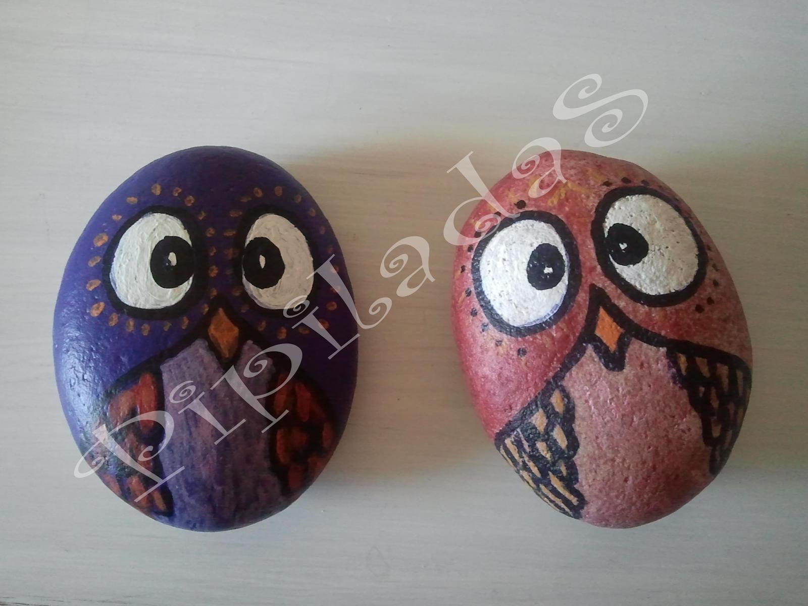 Piedras pintadas a mano for Pintura de piedras