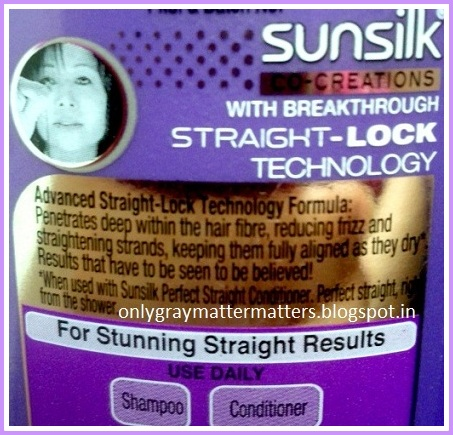 Sunsilk Straight Lock
