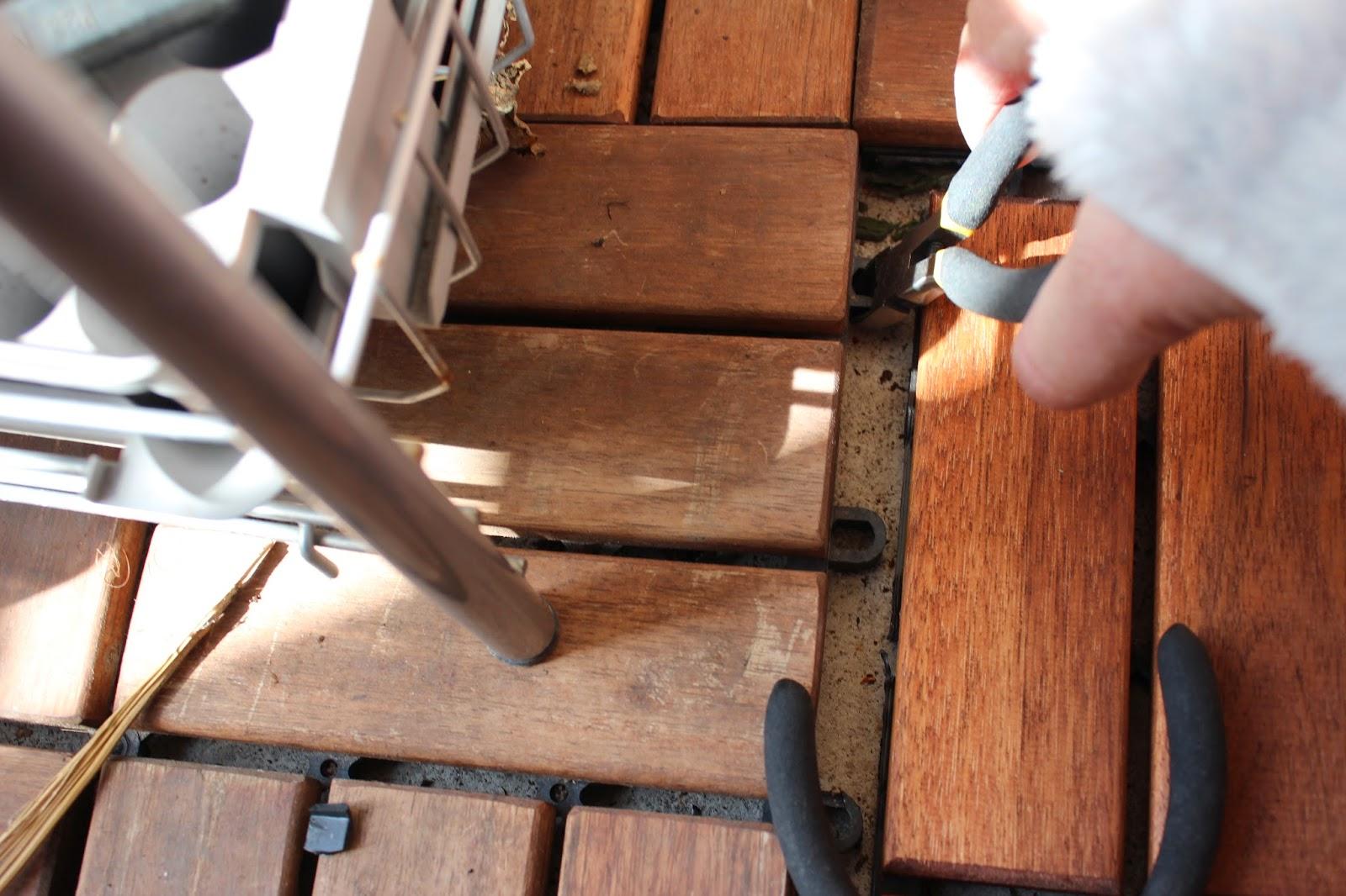 Inredning lägga trall på balkong : Funkynality: balkong