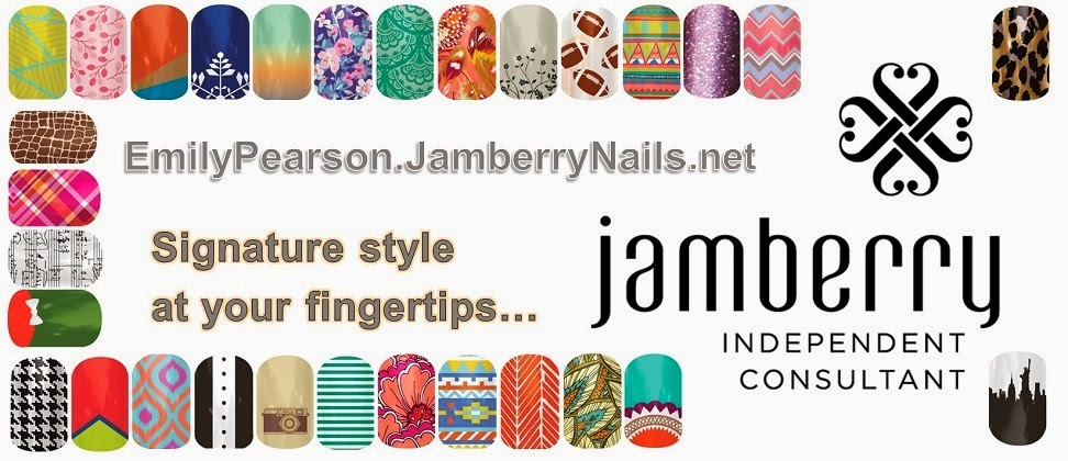 Emily Pearson - Jamberry Independent Nail Consultant