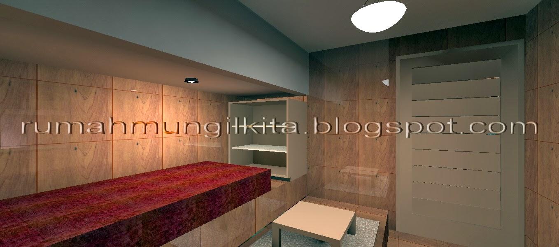 desain kamar tidur tahan banjir
