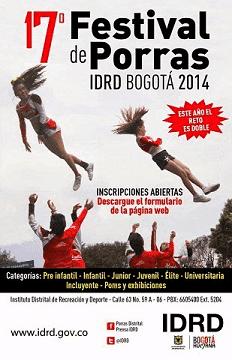 Festival de porras Bogota