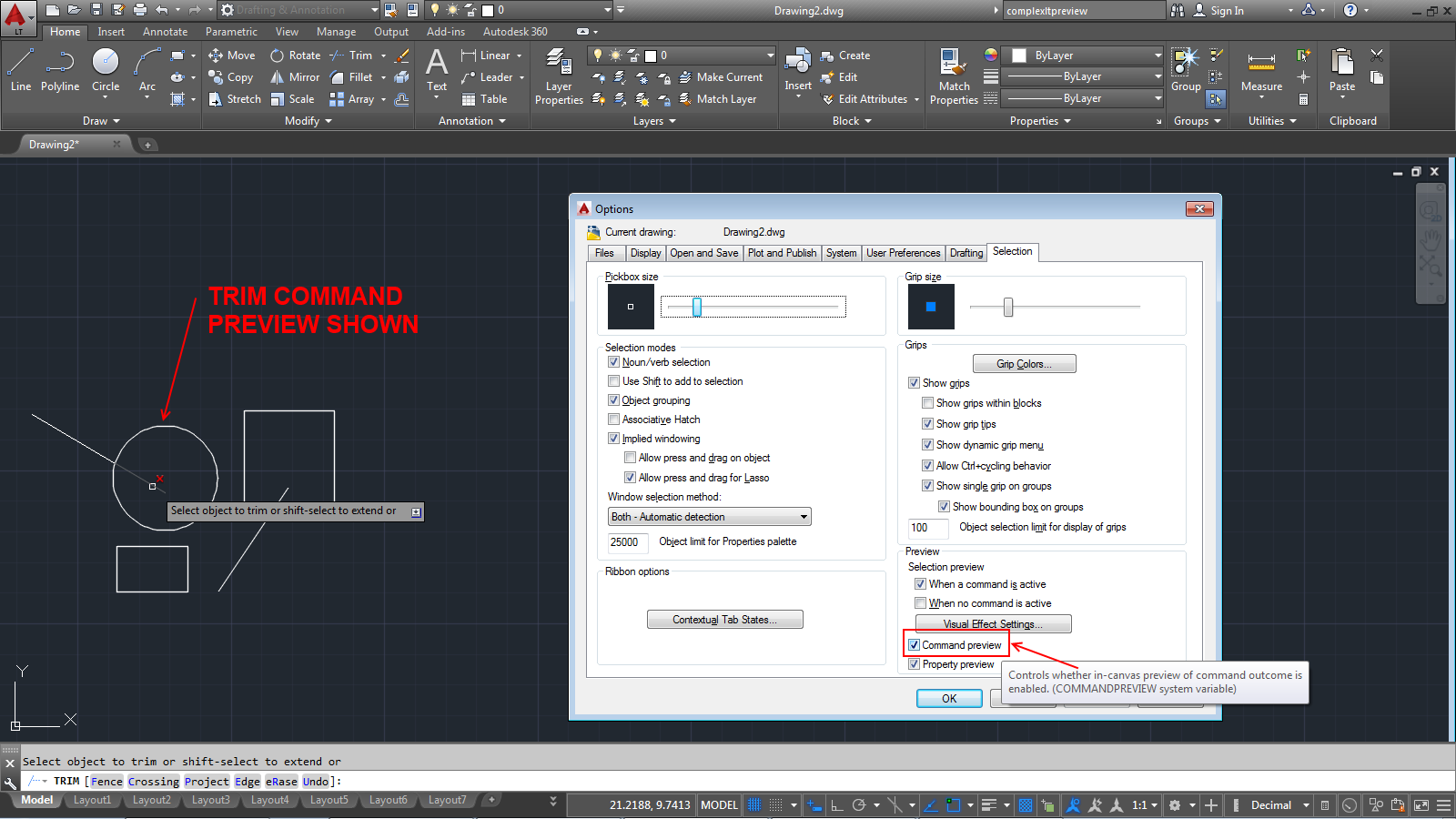 Autocad Lt 2015 Enhances Them And Offers More Flexibility With Their Use  Once Created, A Bright Blue Boundary Clearly Identifies The Active Viewport  You