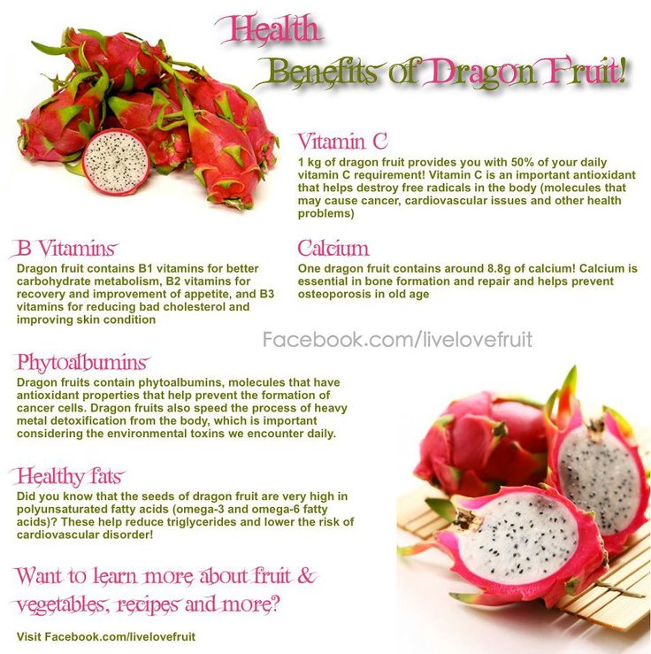 benefits dragon fruit