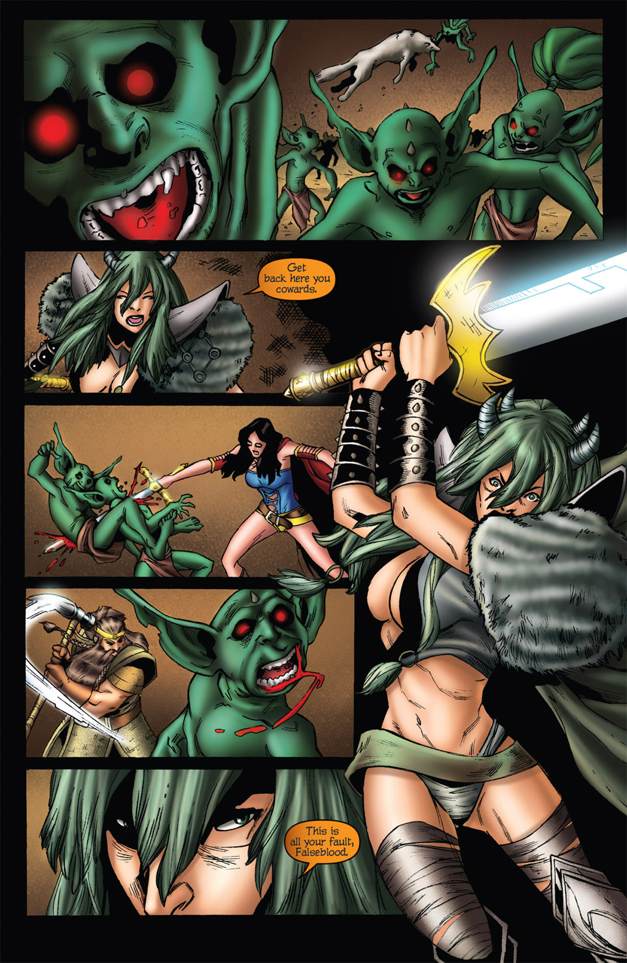 Grimm Fairy Tales (2005) Issue #56 #59 - English 8