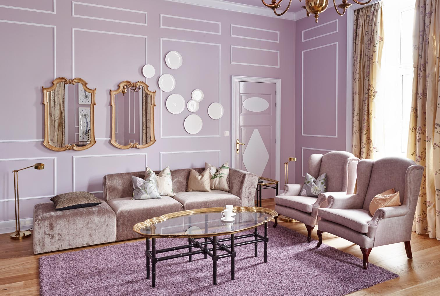 Scandinavian chic: my latest project: the mikado suite at the ...
