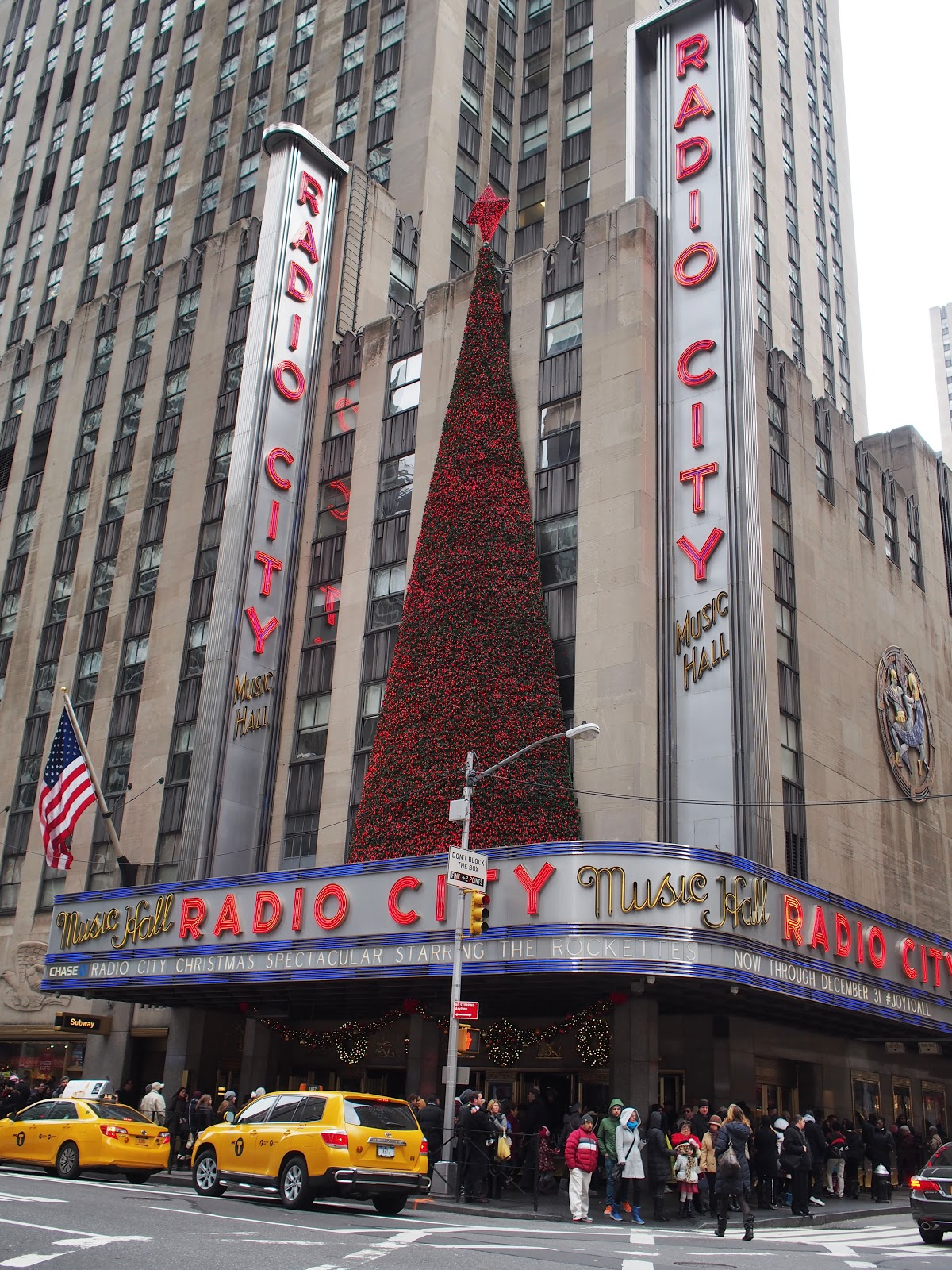 All Decked Out #alldeckedout #radiocity #holidays #besttimeoftheyear #nyc ©2014 Nancy Lundebjerg