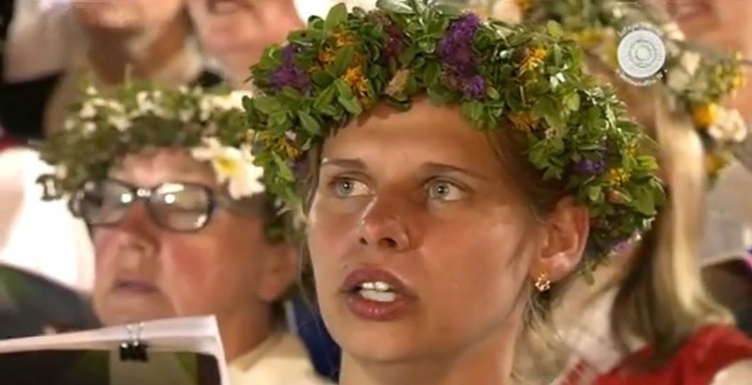 Coral de 15 mil cantores na Estónia