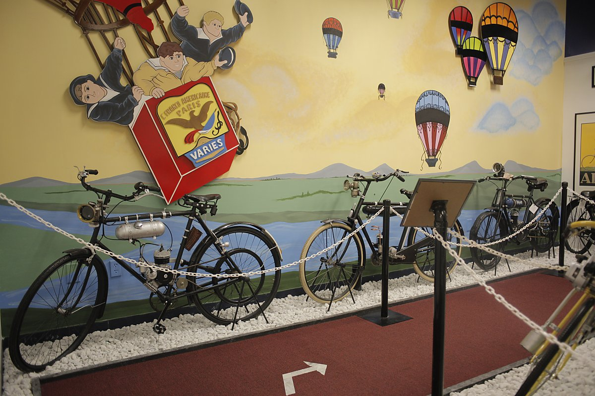The Headbadge: A visit to the Dezer Collection\'s motorized bicycle ...