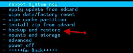 Backup And Restore Nandroid Backup