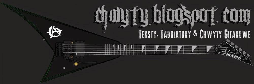 Chwyty na gitarę, Teksty Piosenek oraz Tabulatury