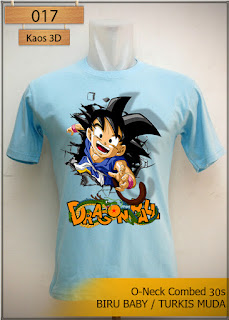 Kaos 3D Dragon Ball Son Goku