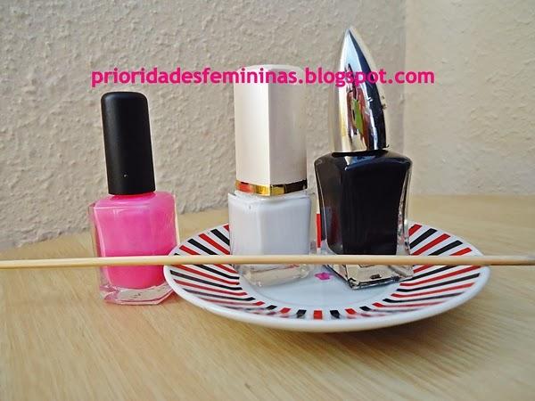 materiais para fazer nail art