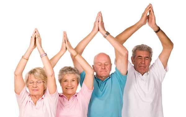 Gimnasia para gente mayor