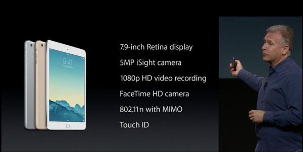 Apple chính thức ra mắt iPad Mini 3