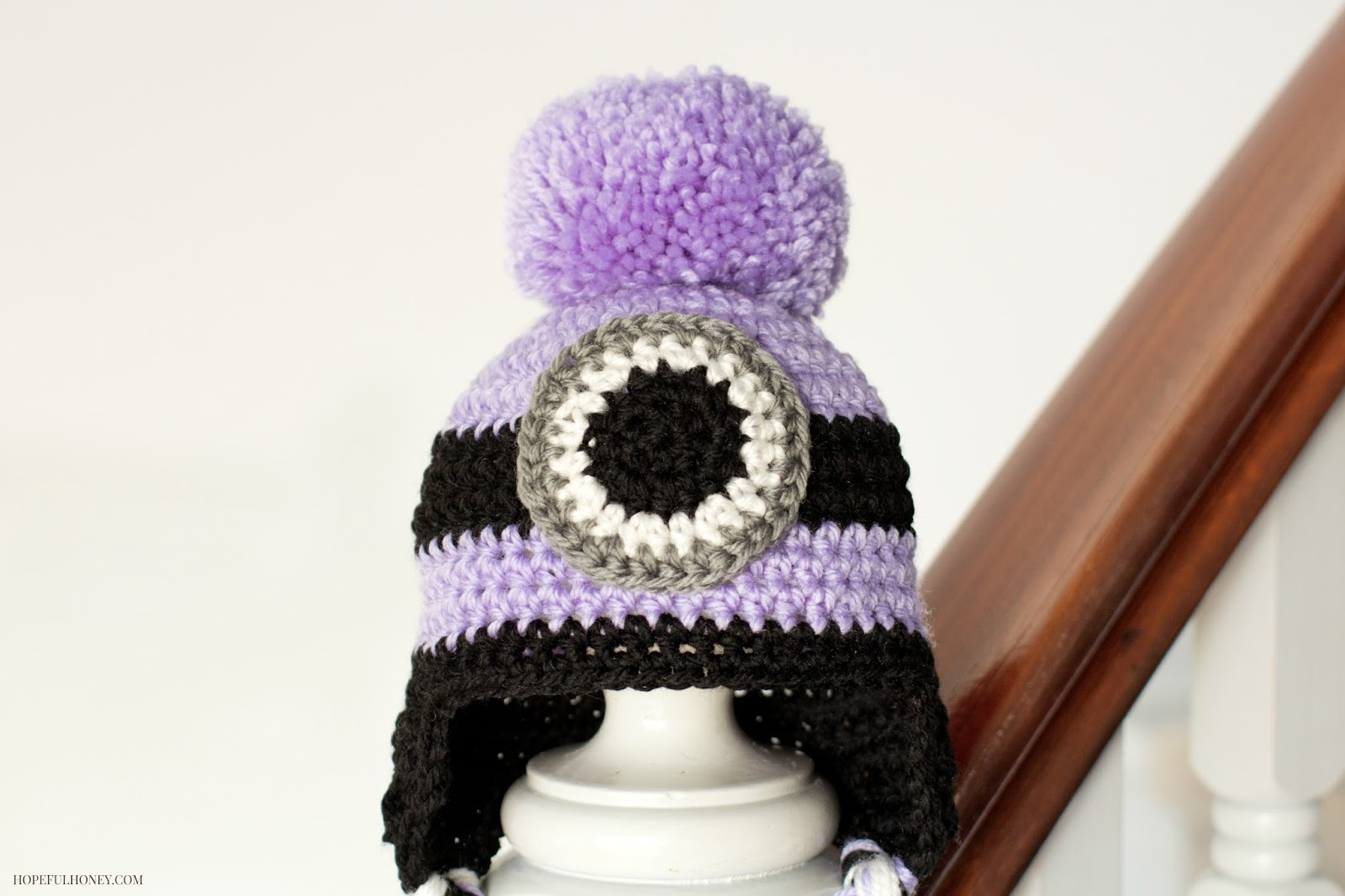 Crochet Hat Pattern For Minion : Hopeful Honey Craft, Crochet, Create: Evil Minion ...
