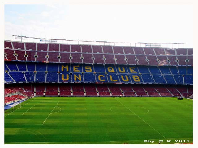 30s in Barcelona: Camp Nou Experience