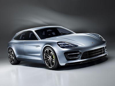 The Detail of Porsche Panamera Sport Turacismo Concept