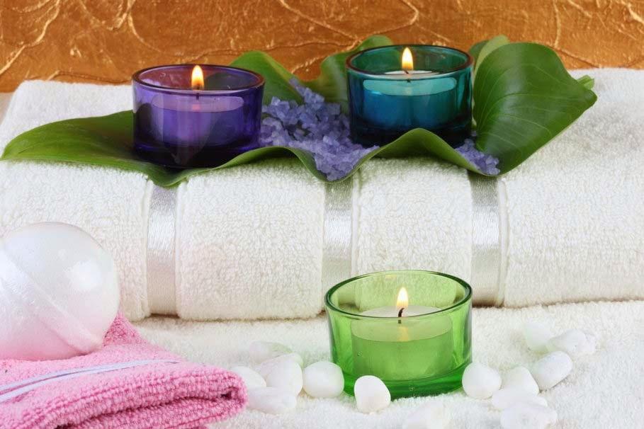 candle-towel-nice-image