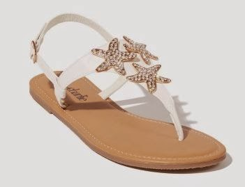 Charming Charlie tide pool sandals