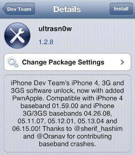 Jailbreak කරපු  iPhone එකක්  Update කර Unlock කරමු