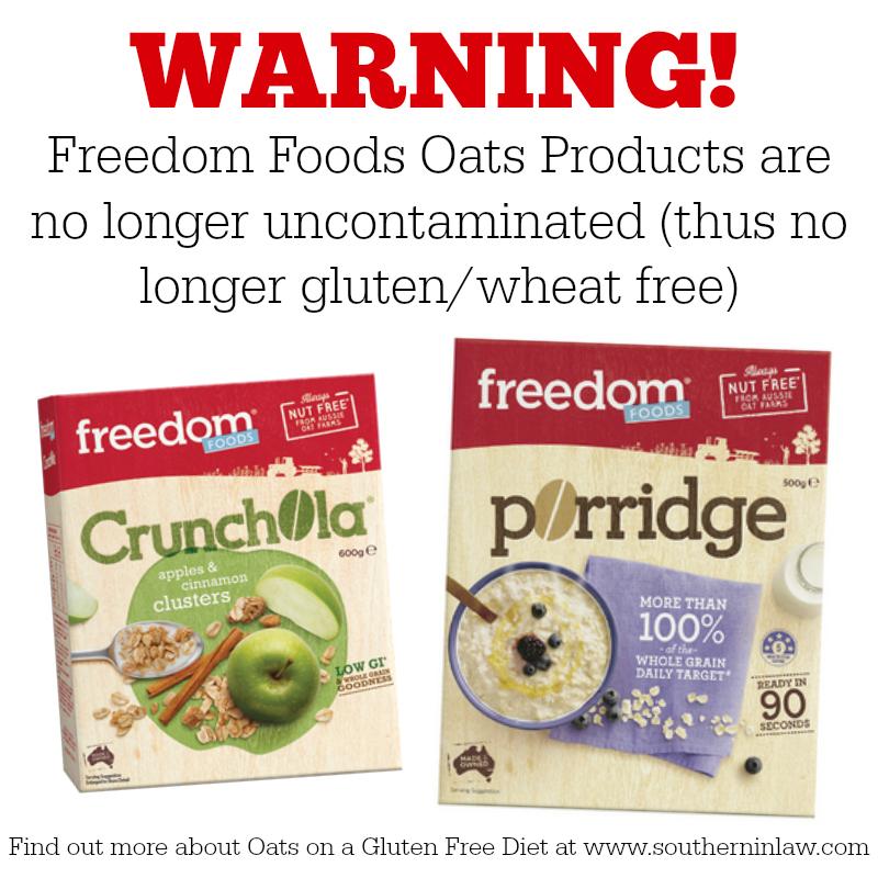Gluten in oats
