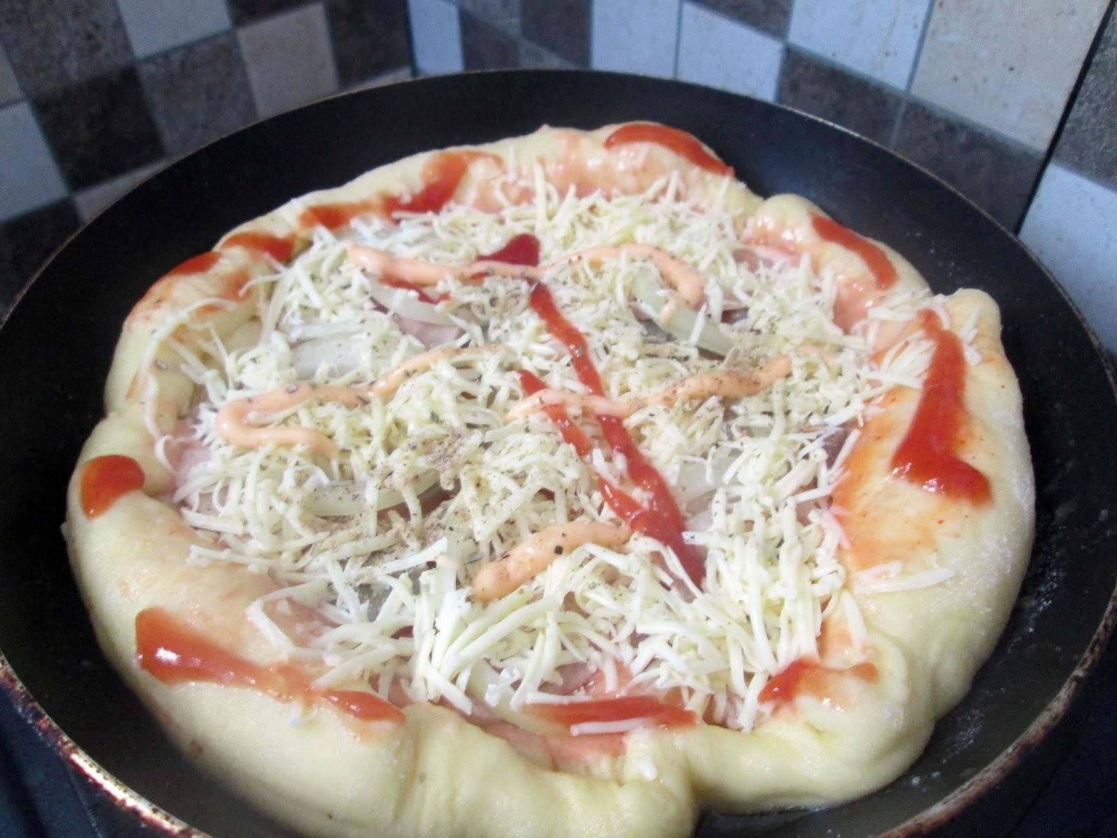 Resep Pan Pizza